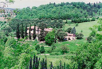 Le Pialle vacation apartment in Tuscany