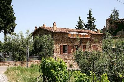 Casa Forese vacation rental near Montefioralle in Chianti