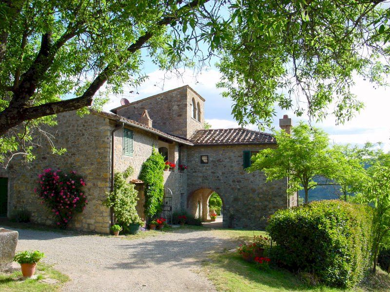 Tuscan farmhouse vacation rental