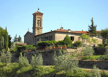Casole near Lamole in Chianti