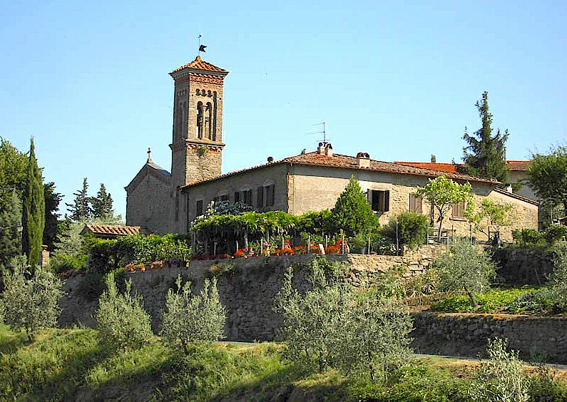 Casole near Lamole in Chianti