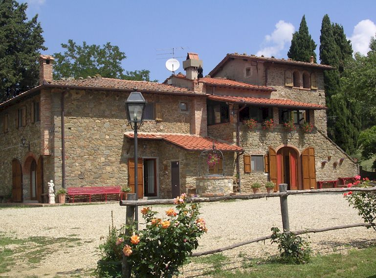 Bed & Breakfast accommodation in Chianti