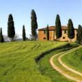 Tuscan farm house