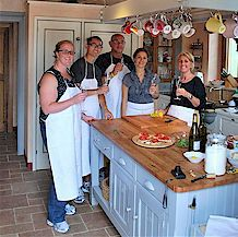 Tuscan cooking lesson at your vacation accommodation