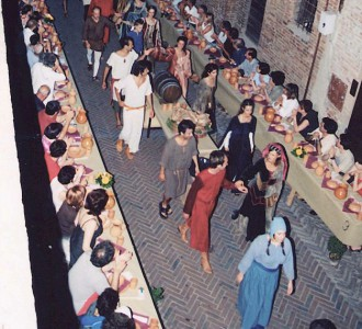 "Mediaeval Dinner in Certaldo - ""A cena da Messer Boccaccio"""