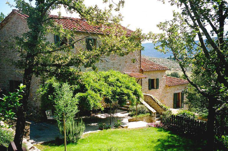 Tuscan agriturismo farmhouse vacation rental