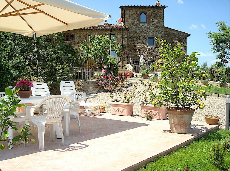 "Holiday home to rent in Chianti - ""Casa Ramoli"""