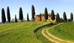 Tuscan farm house